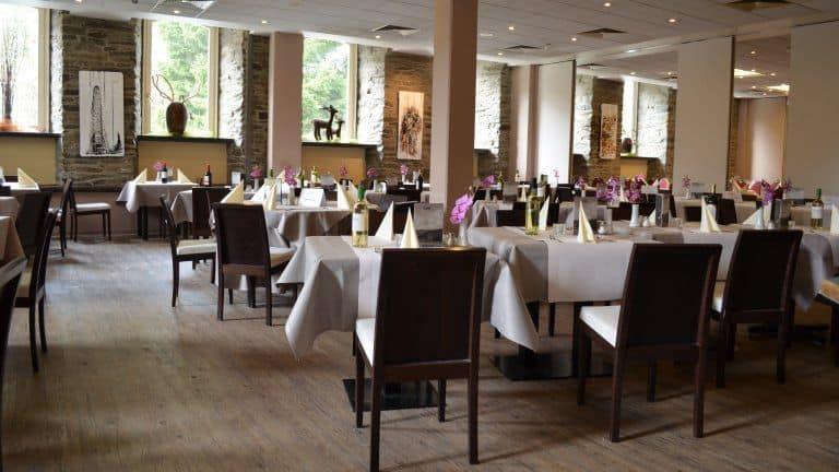 Restaurant van Michel en Friends Hotel Monschau in Monschau, Noordrijn-Westfalen, Duitsland