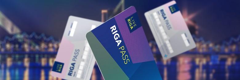 Riga kaart in Letland