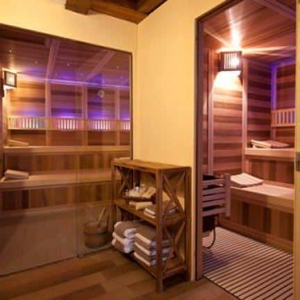 Sauna van Hotel Belle-Vue Lux in Vianden, Luxemburg, Luxemburg