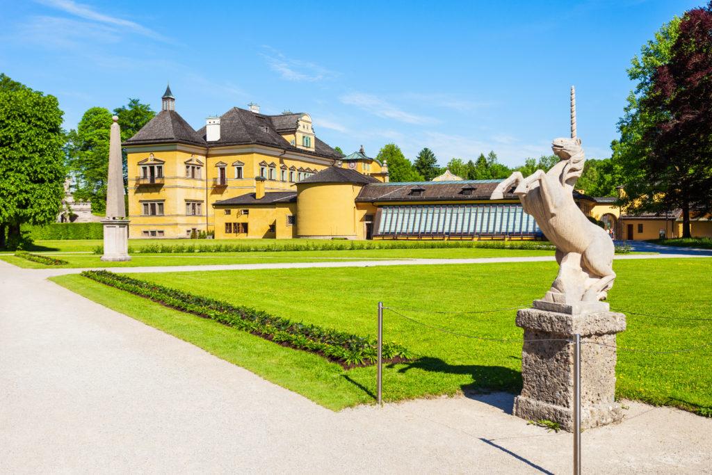 Schloss Hellbrunn in Salzburg, Oostenrijk