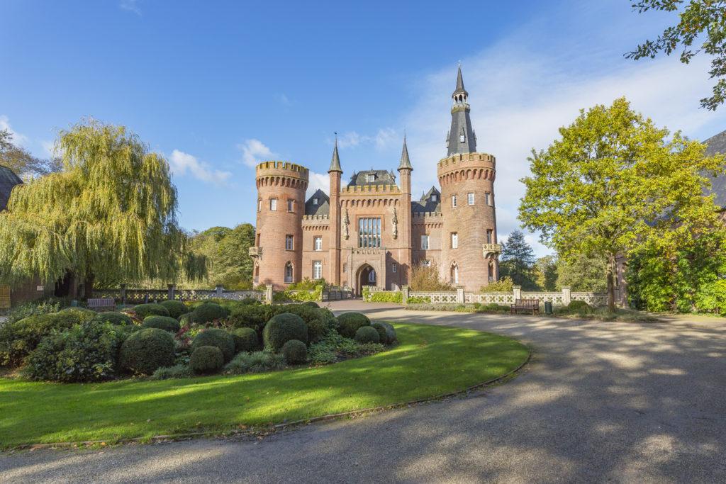 Slot Moyland in Bedburg, Duitsland
