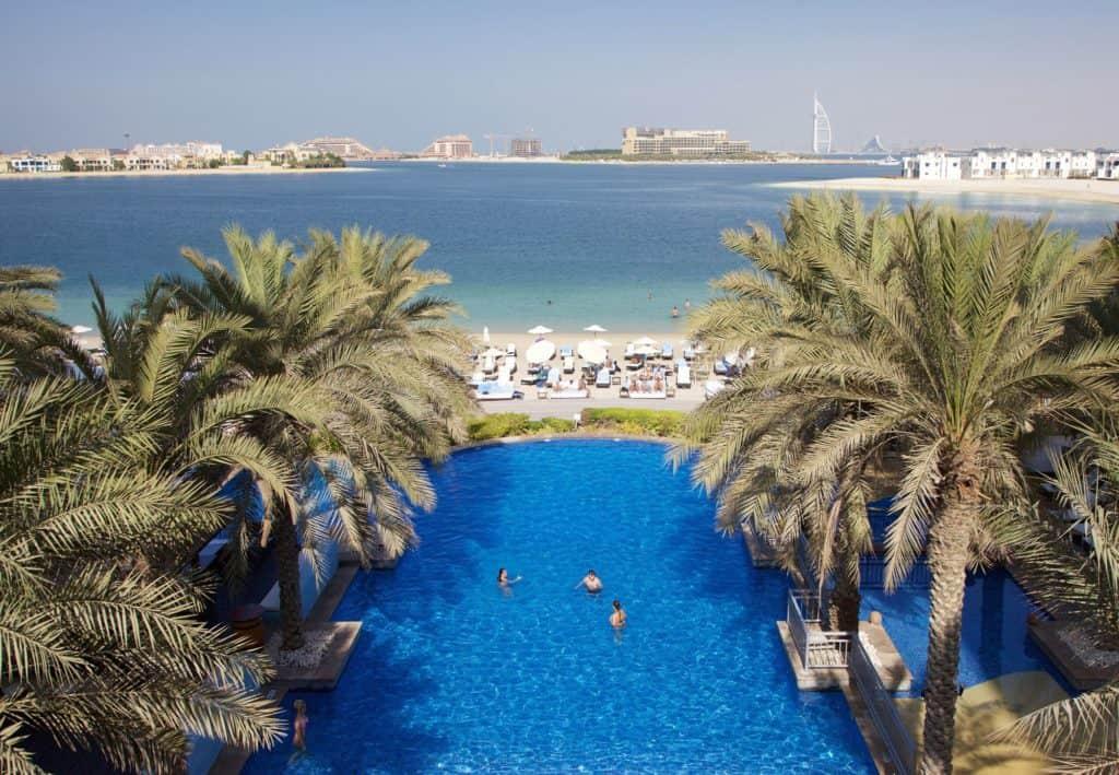 Strand van Mövenpick Ibn Battuta Gate Dubai in Dubai, Dubai, Verenigde Arabische Emiraten
