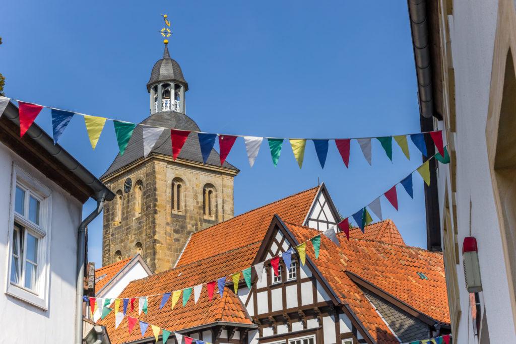 Tecklenburg in Duitsland