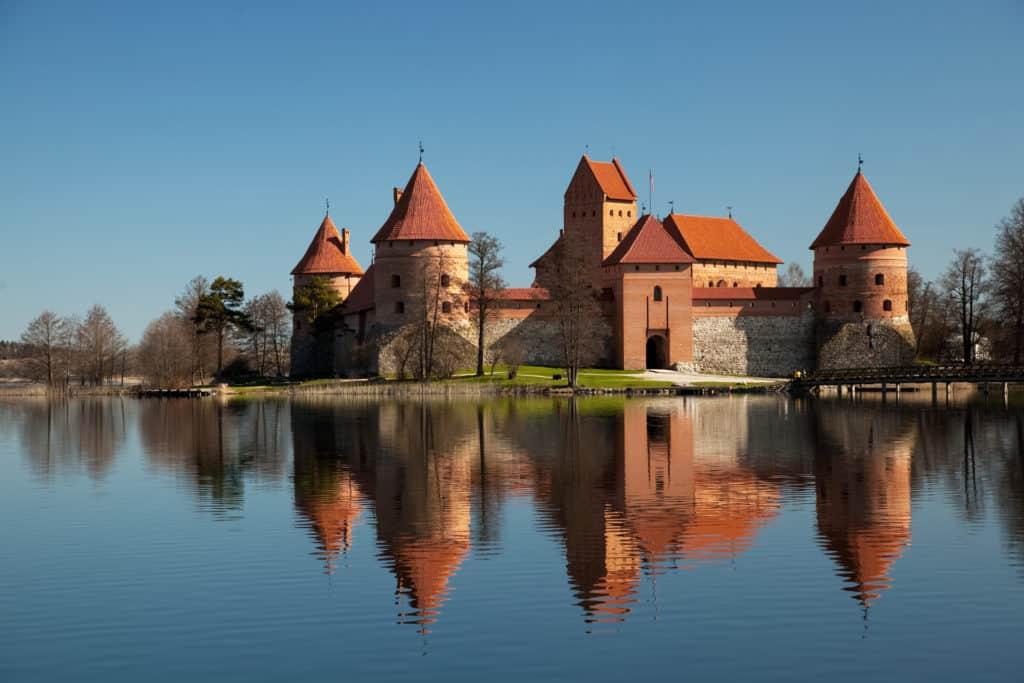 Kasteel van Trakai in Litouwen