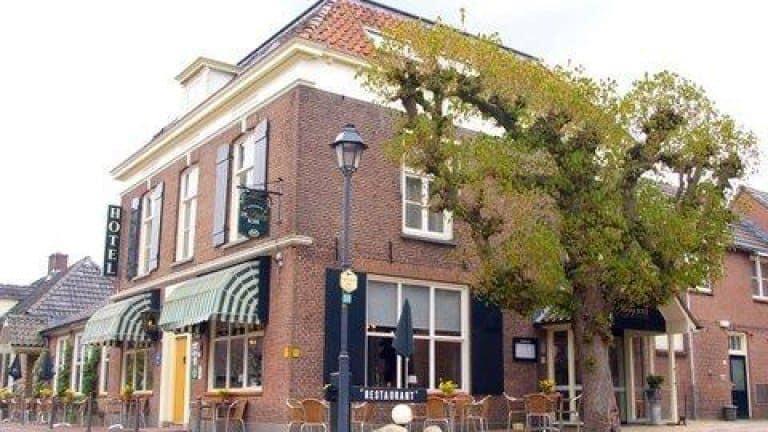 Vooraanzicht van Landhotel De Hoofdige Boer in Almen, Gelderland, Nederland