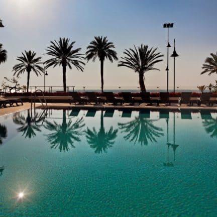 Zwembad van Melia Costa Del Sol in Torremolinos, Costa del Sol, Spanje
