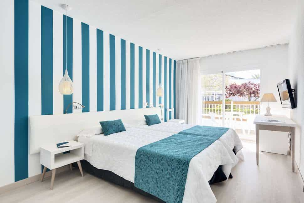 Hotelkamer van Alcudia Garden Aparthotel in Alcúdia, Mallorca, Spanje