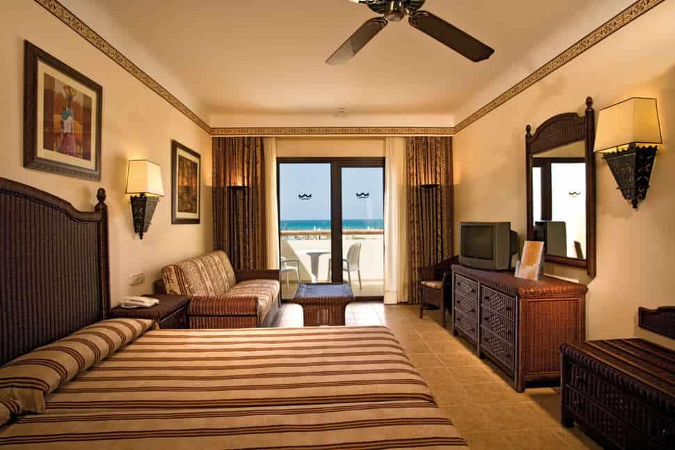 Hotelkamer van ClubHotel Riu Karamboa in Praia de Salinas, Boa Vista, Kaapverdië