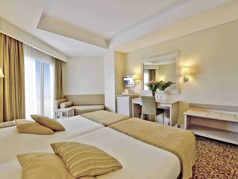 Hotelkamer van Hotel Side Star Park in Side, Turkse Rivièra, Turkije