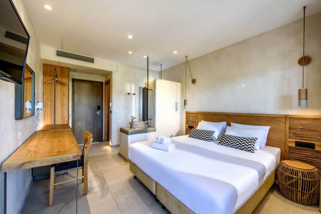 Hotelkamer van Hotel Stella Village in Analipsi, Kreta, Griekenland