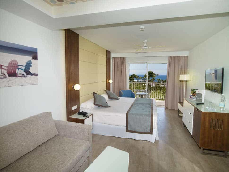 Hotelkamer van Riu Gran Canaria in Maspalomas, Gran Canaria, Spanje