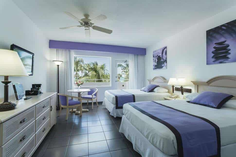 Hotelkamer van Riu Plaza Miami Beach in Miami Beach, Florida, Verenigde Staten
