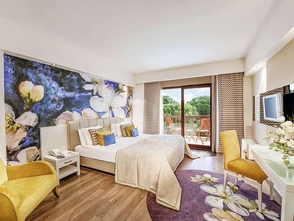 Hotelkamer van Voyage Belek Golf & Spa in Belek, Turkse Rivièra, Turkije