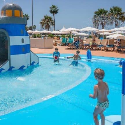 Kinderbad van Hovima La Pinta in Costa Adeje, Tenerife, Spanje