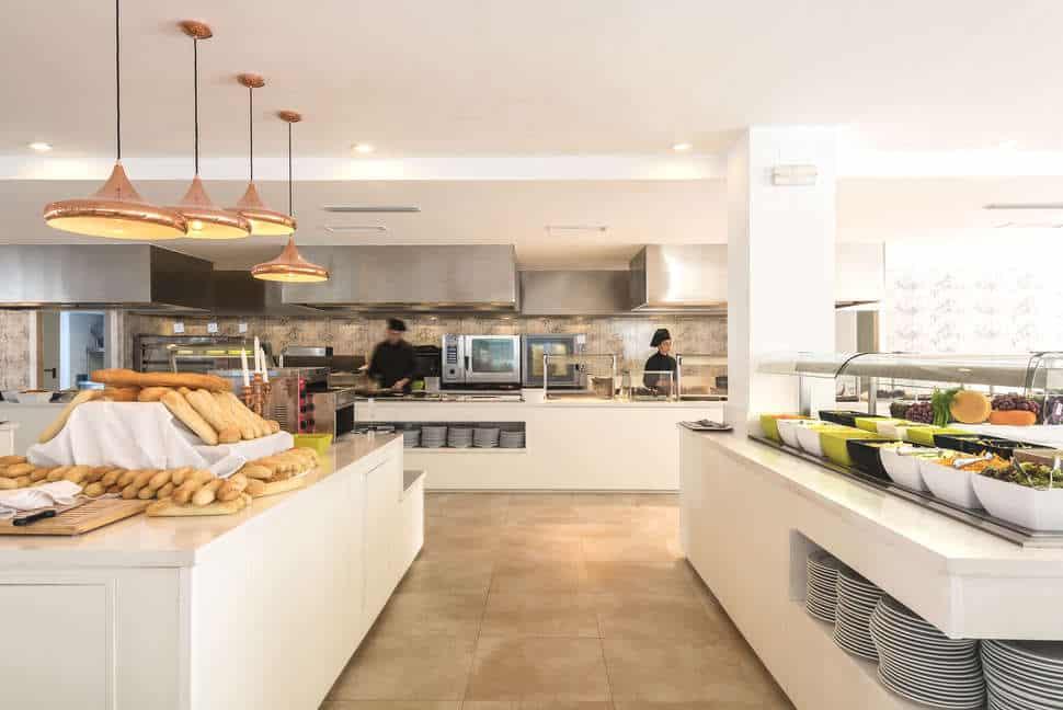 Restaurant van Alcudia Garden Aparthotel in Alcúdia, Mallorca, Spanje