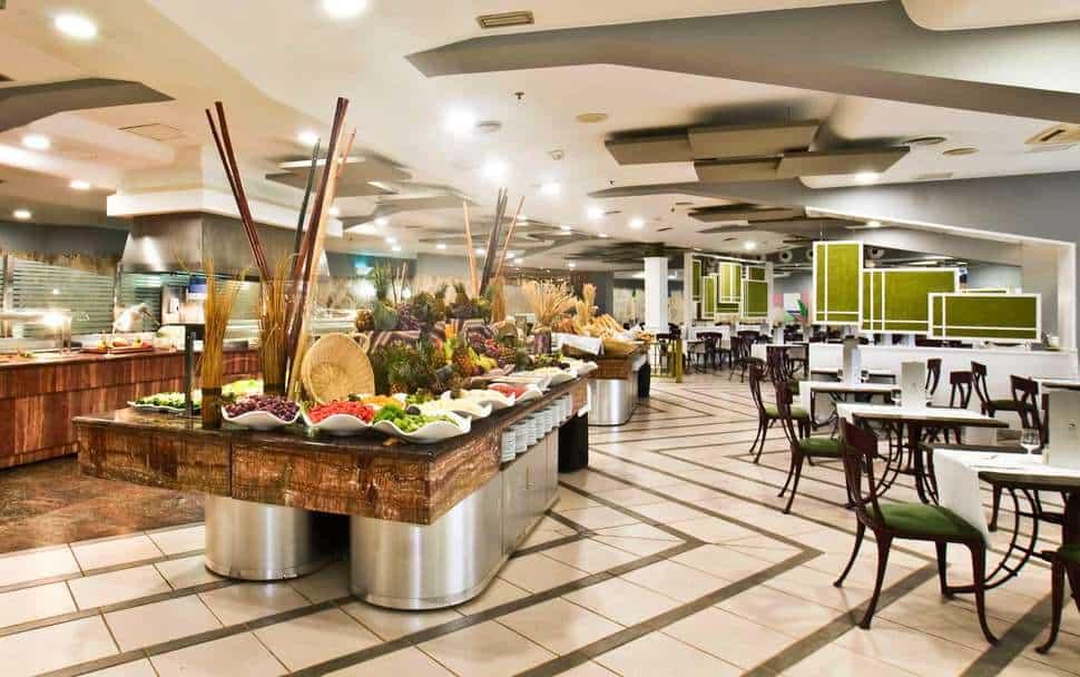 Restaurant van Suites & Villas by Dunas in Maspalomas, Gran Canaria, Spanje