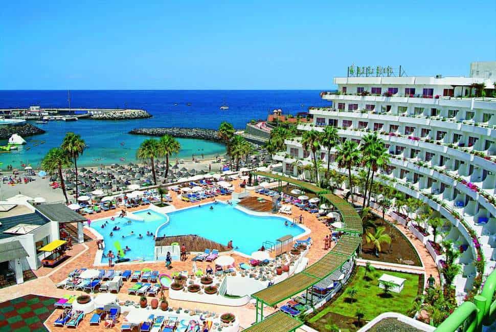 Zwembad van Hovima La Pinta in Costa Adeje, Tenerife, Spanje