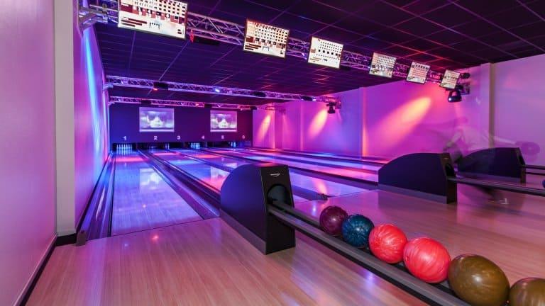 Bowlingbaan van Hotel De Bonte Wever in Assen, Drenthe, Nederland