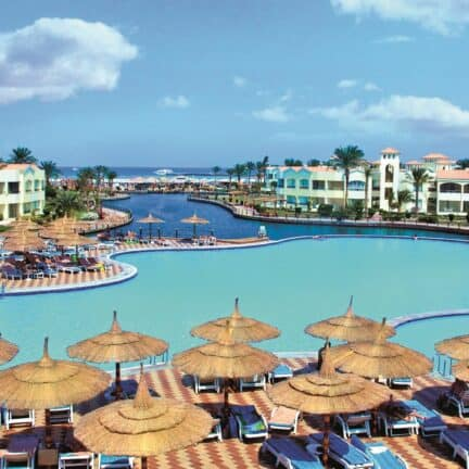 Dana Beach Resort in Hurghada, Rode Zee, Egypte
