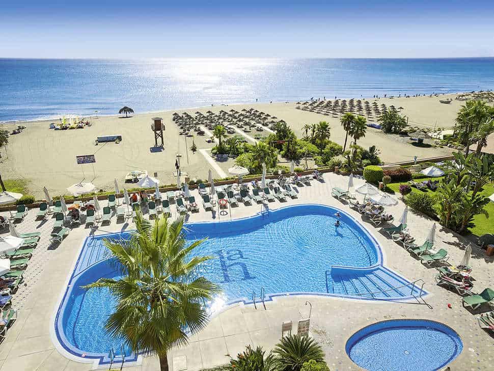 Hotel Amaragua in Torremolinos, Costa del Sol, Spanje