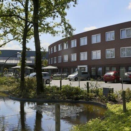 Hotel De Bonte Wever in Assen, Drenthe, Nederland