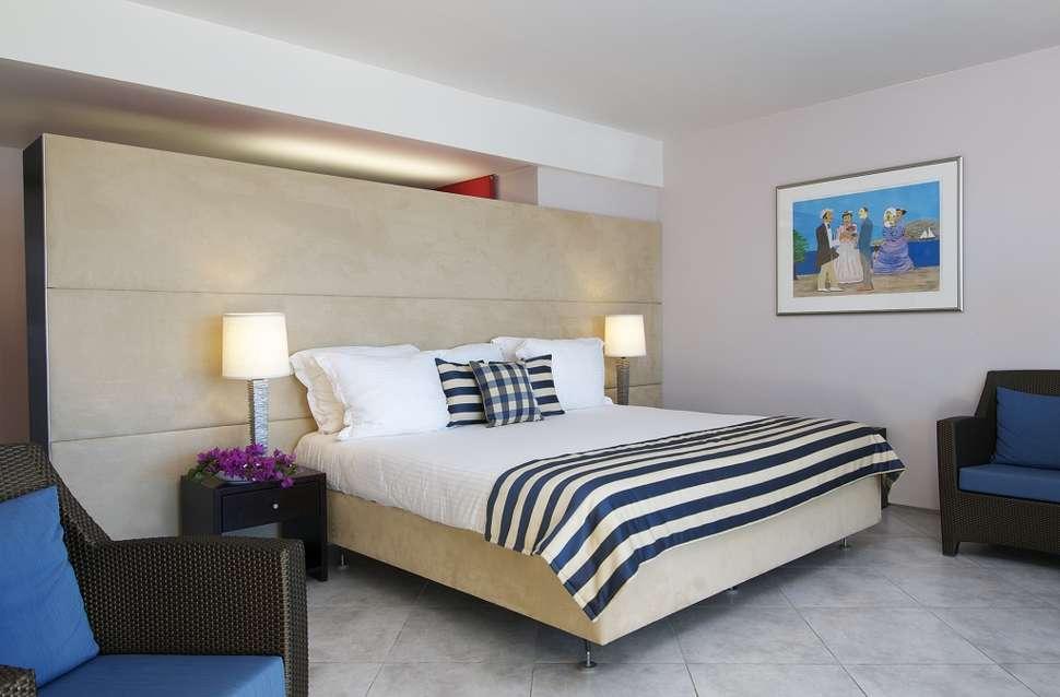 Hotelkamer van Avila Beach Hotel in Willemstad, Curaçao, Curaçao