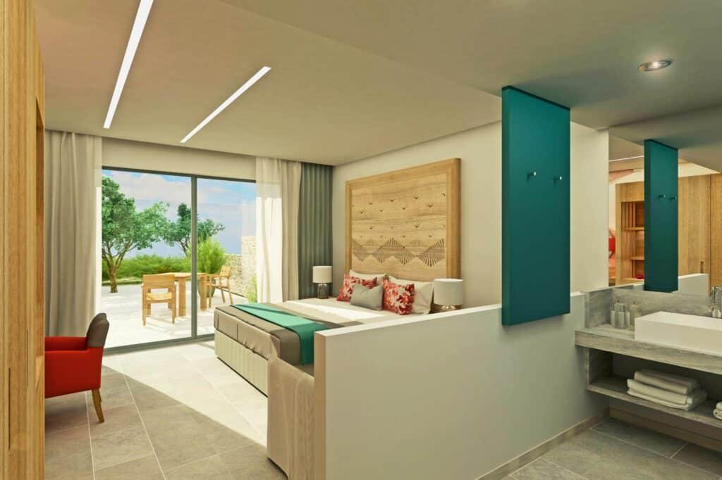 Hotelkamer van Blue Lagoon Ocean in Kos-Stad, Kos, Griekenland
