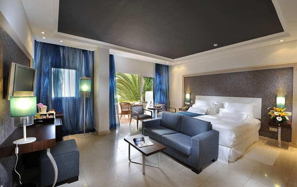 Hotelkamer van Hotel Jardin Tropical in Costa Adeje, Tenerife, Spanje