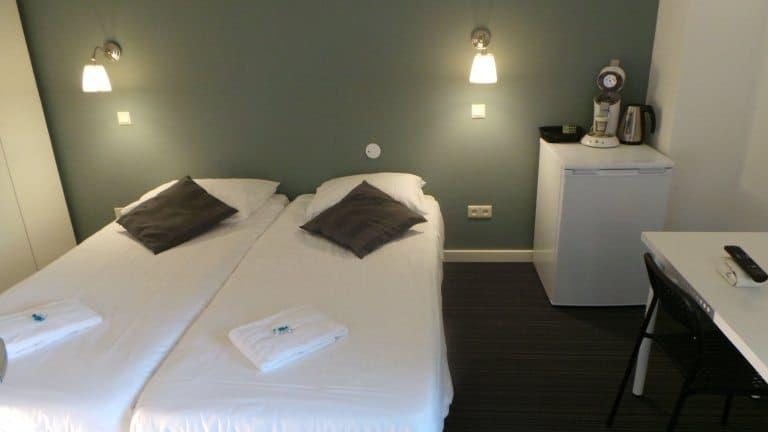 Hotelkamer van Hotel Wyllandrie in Ootmarsum, Overijssel, Nederland