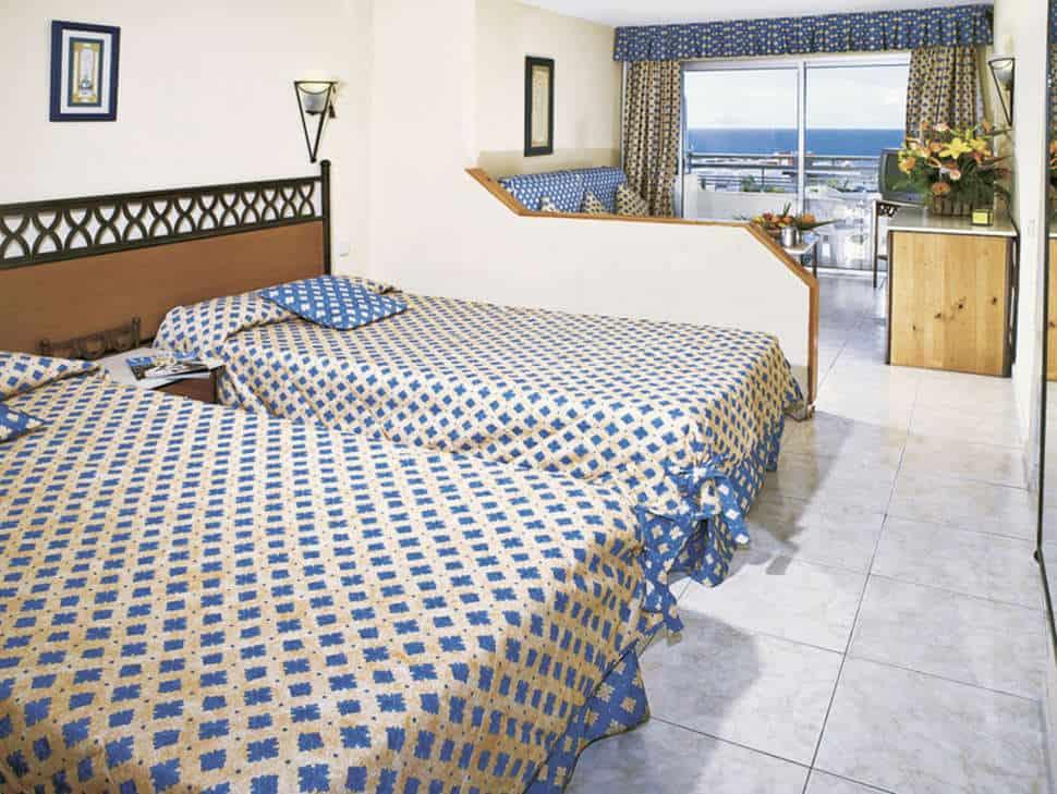 Hotelkamer van Hovima Santa Maria in Costa Adeje, Tenerife, Spanje