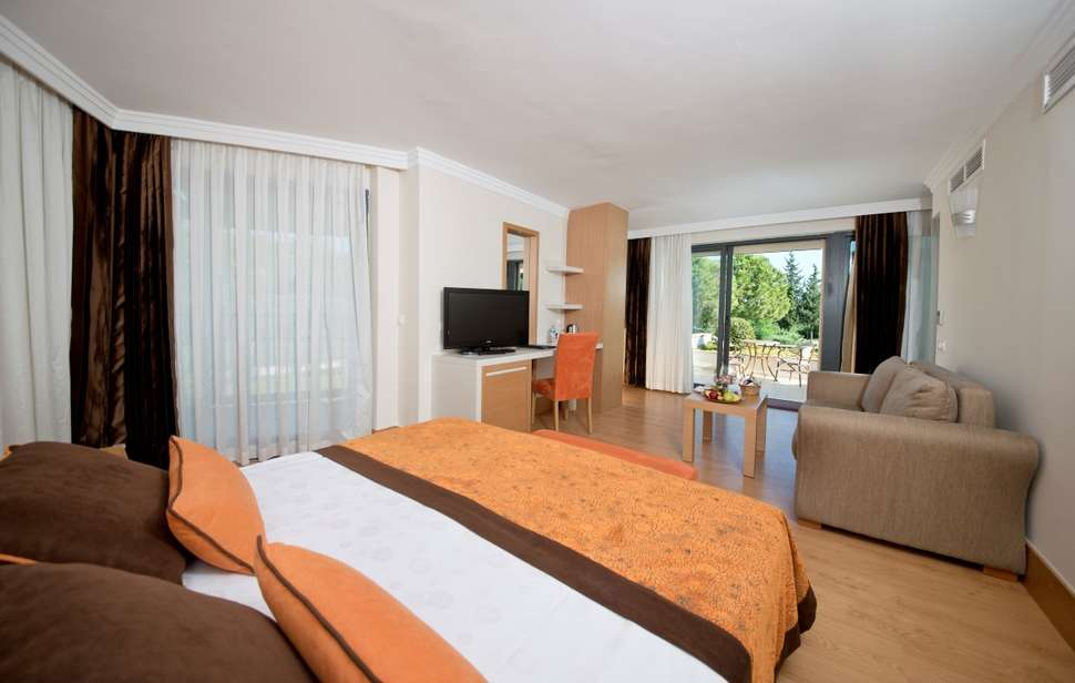 Hotelkamer van Limak Limra Hotel Resort in Kemer, Turkse Rivièra, Turkije