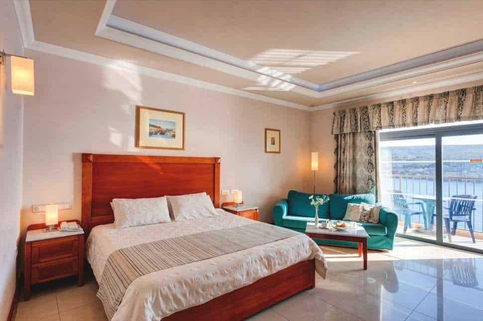 Hotelkamer van Paradise Bay Resort Hotel in Mellieha, Malta, Malta