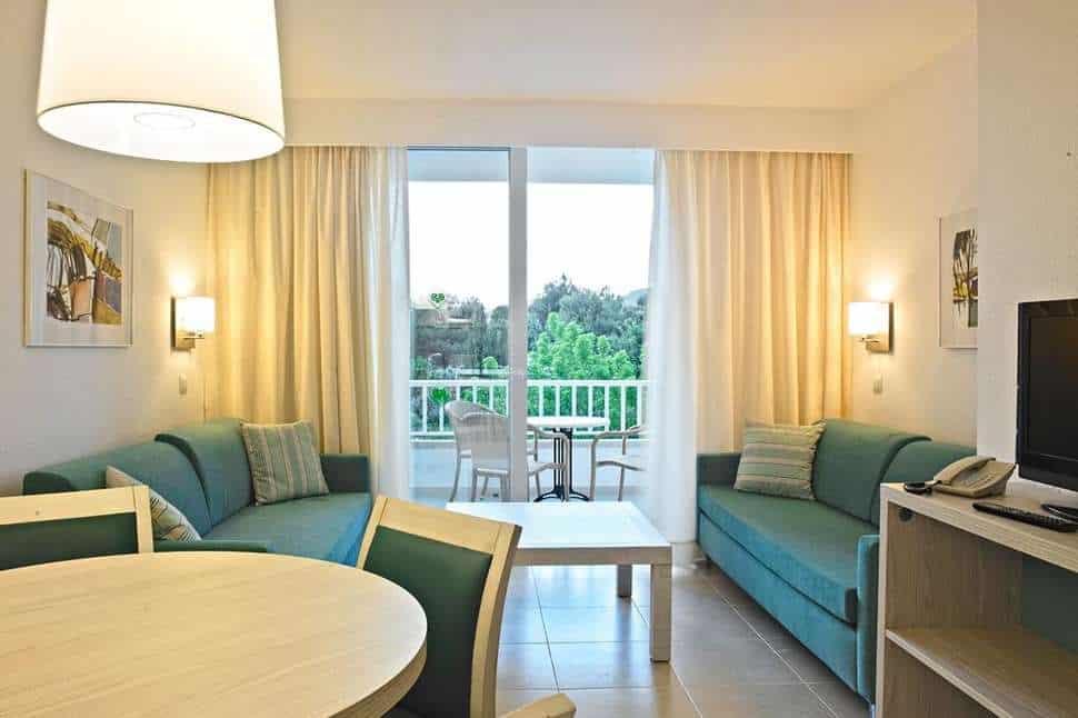 Hotelkamer van Protur Safari Park in Sa Coma, Mallorca, Spanje