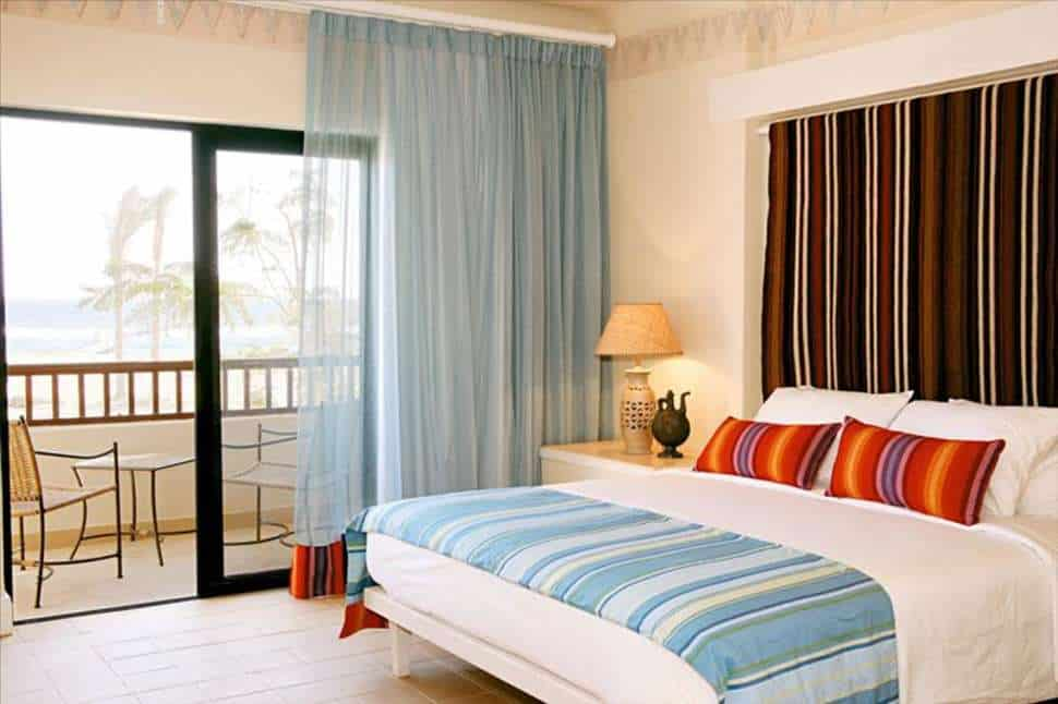 Hotelkamer van Red Sea Siva Port Ghalib in Marsa Alam, Rode Zee, Egypte