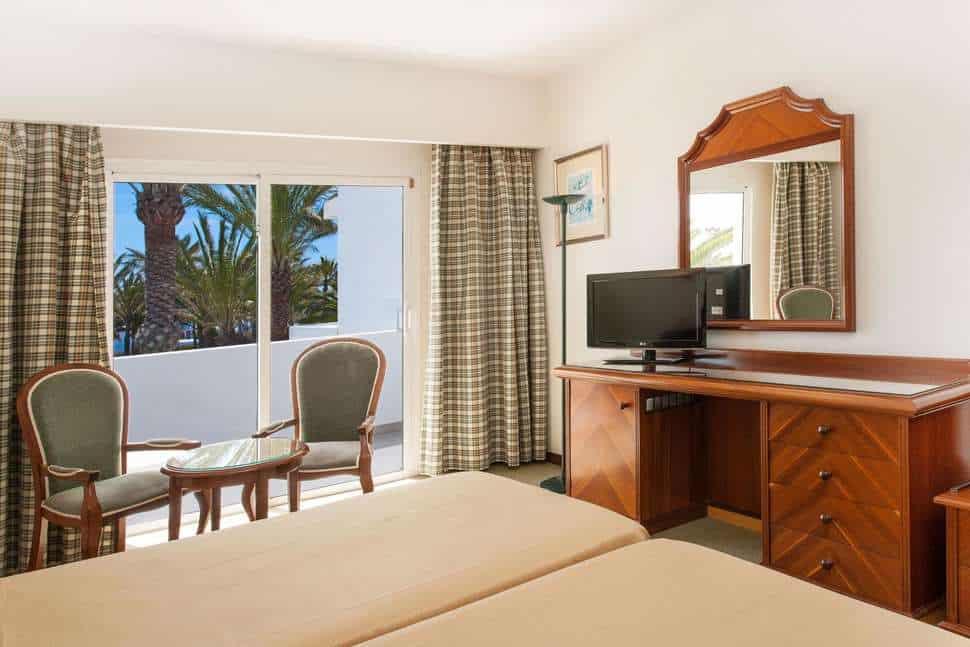 Hotelkamer van Relaxia Olivina Lanzarote in Puerto del Carmen, Lanzarote, Spanje
