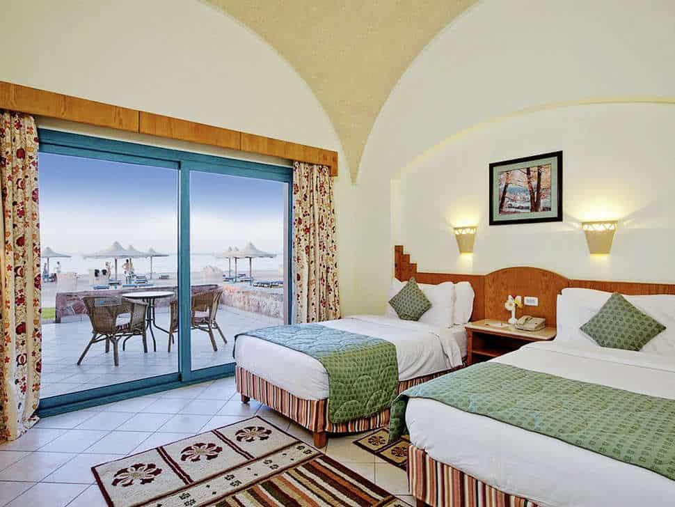 Hotelkamer van Sentido Oriental Dream Resort in Marsa Alam, Rode Zee, Egypte