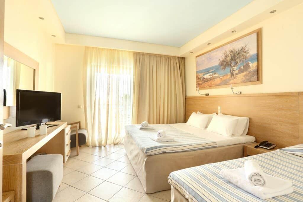 Hotelkamer van Star Beach Village in Chersonissos, Kreta, Griekenland