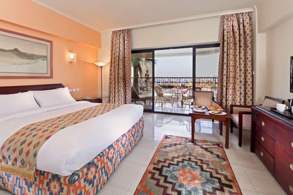 Hotelkamer van Sunrise Holidays Resort in Hurghada, Rode Zee, Egypte