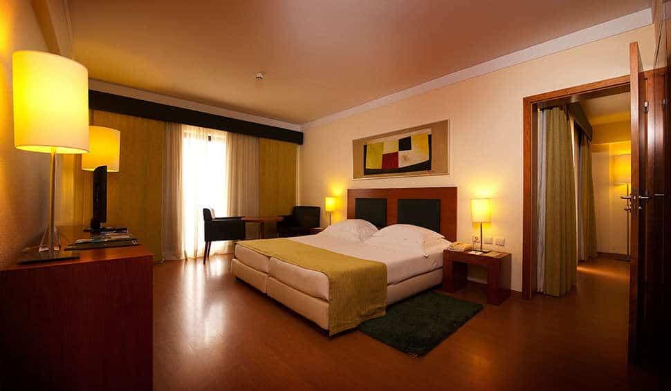 Hotelkamer van Vila Galé Cerro Alagoa in Albufeira, Algarve, Portugal