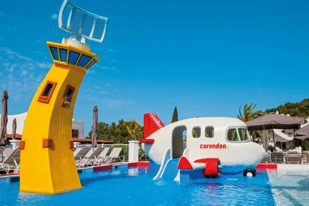 Kinderbad van Marble Stella Maris Ibiza in Cala Gracio, Ibiza, Spanje