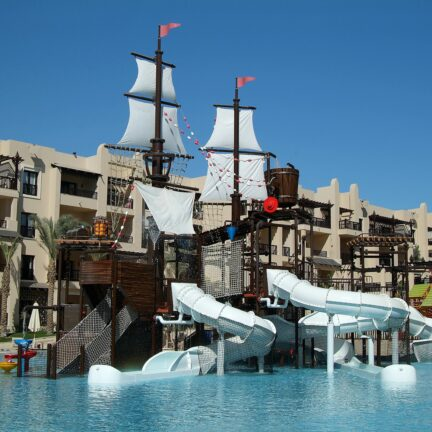 Kinderbad van Steigenberger Aqua Magic in Hurghada, Rode Zee, Egypte