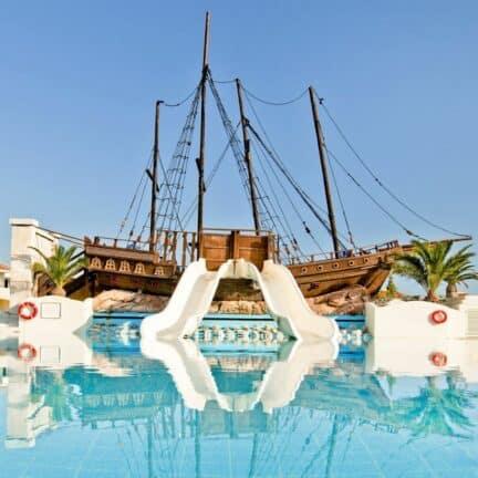 Kipriotis Village Resort in Psalidi, Kos, Griekenland