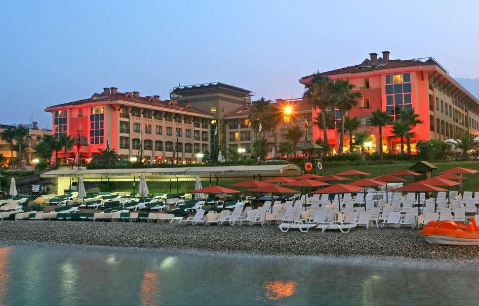 Ligging van Fame Residence Kemer & Spa in Kemer, Turkse Rivièra, Turkije