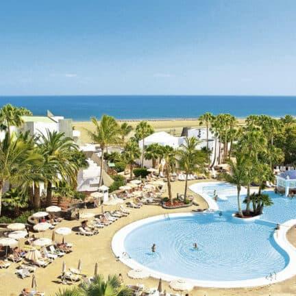 Ligging van RIU Paraiso Lanzarote Resort in Puerto del Carmen, Lanzarote, Spanje