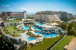Long Beach Resort Hotel in Alanya, Turkse Rivièra, Turkije
