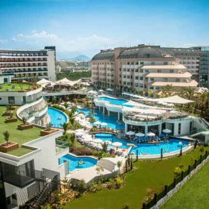 Long Beach Resort Hotel in Alanya, Turkse Rivièra, Turkije