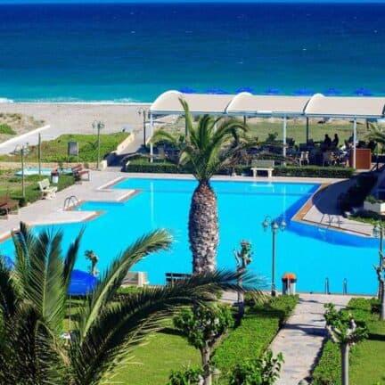 Marino's Beach Appartementen in Rethymnon, Kreta, Griekenland