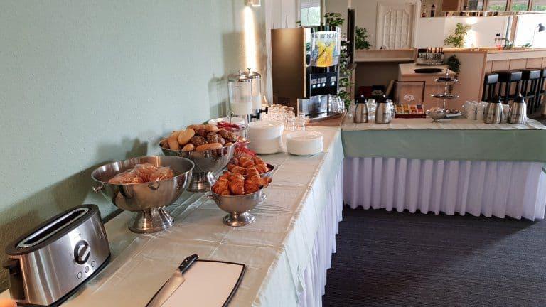 Ontbijt van Hotel Wyllandrie in Ootmarsum, Overijssel, Nederland