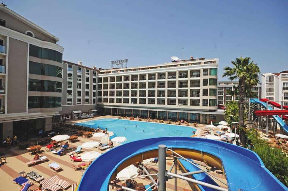 Pasa Beach Hotel in Marmaris, Lycische Kust, Turkije