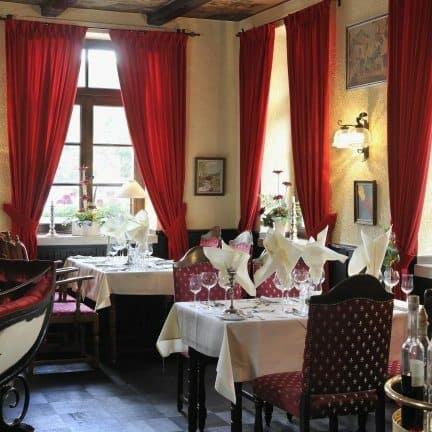 Restaurant van Hotel Lochmühle in Mayschoß, Rijnland-Palts, Duitsland